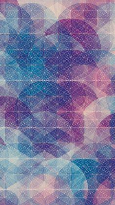 幾何学模様 スマホ用壁紙(Android/720×1280)