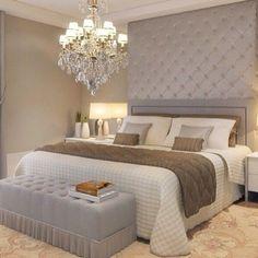 Resultado de imagem para suite master decoracao new classic casa cor