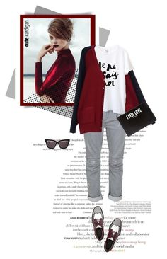 """My Favorite Cardigan...Style."" by unamiradaatuarmario ❤ liked on Polyvore featuring Balenciaga, Sonia by Sonia Rykiel, Balmain, Alexander Wang, Givenchy, Christian Dior and mycardi"