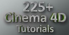 The Epic Cinema 4D Tutorials for Beginners and professionals the Basics helps to create portfolio show-reel. like After effects tutorials for beginners we mentioned earlier