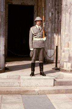 NVA guard at the Neue Wache. Summer 1983.