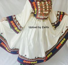 Ethnic Fashion, Women's Fashion, Afghani Clothes, Long Frock, Afghan Dresses, Punjabi Suits, Vintage Wear, Traditional Outfits, Afghanistan