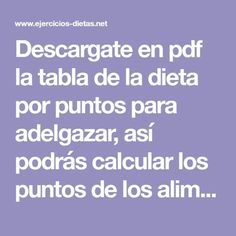 342 Mejores Imágenes De Dieta Por Puntos Diets Food Items Y Products