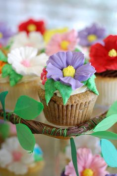 Floral Bouquet Cupcakes | Flickr - Photo Sharing!
