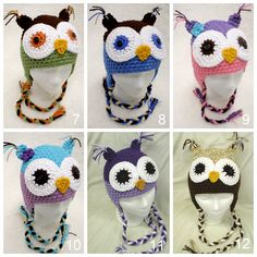 19.99 owl hat Owl Themed Nursery, Beautiful Owl, Owl Hat, Owls, Barn, Crochet Hats, Trending Outfits, My Style, Unique Jewelry