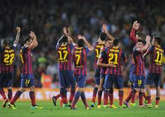 FC Barcelona at the Camp Nou