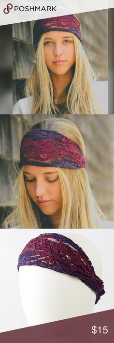 Spotted while shopping on Poshmark: Bohochic Wide Lace Headband! #poshmark #fashion #shopping #style #Bchic #Accessories
