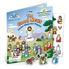 The Good News Easter Magnet Playset