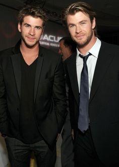 Hemsworth brothers... marry me?