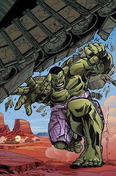 #Hulk #Fan #Art. (INDESTRUCTIBLE-HULK #1 COVER) By: Walt Simonson. ÅWESOMENESS!!!™ ÅÅÅ+