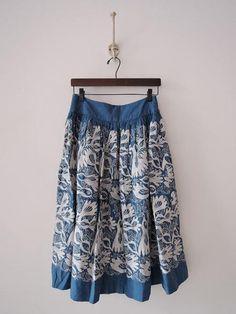 ミナペルホネン mina perhonen carnival 刺繍スカート