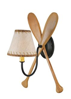 """11""""W Paddle Wall Sconce"""