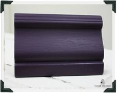 Chalk Paint™ decorative paint by Annie Sloan -- recipe for Deep Purple: 2 oz Napoleonic Blue + 2 oz Emperor's Silk (mixed by 'Round the Coop)