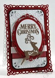 Image result for xmas cards made with spellbinders