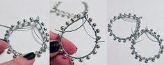 Original Tutorial Sundara Earrings!  - #art, #diy, craft