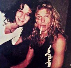 Eddie Van Halen ❤️  David Lee Roth