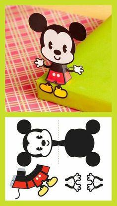 Mickey cute paper