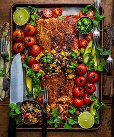 Monday Vibes = Blackened Salmon w/Grilled Sweet Corn & Black Bean Salsa. For the past couple months I've been absolutely loving my knives. Super versatile, & sharp as hell. So awesome. Have a delicious day y'all! Fish Recipes, Seafood Recipes, Cooking Recipes, Healthy Recipes, Healthy Food, Tilapia Recipes, Avocado Recipes, Kitchen Recipes, Cooking Tips