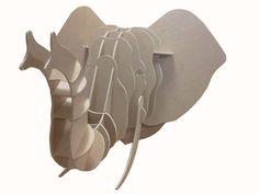 Peça decorativa produzida com madeira ecológica com função quebra-cabeça.