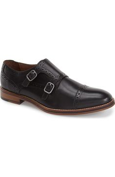 Johnston & Murphy 'Conard' Double Monk Strap Slip-On (Men) available at #Nordstrom