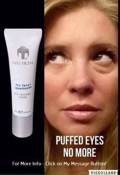 Nu Skin Tru Face for Puffy Eyes Dark Circle Remedies, Dark Circles Treatment, Puffy Eye Treatment, Serum, Lunch Boxe, Under Eye Puffiness, Face Lines, Under Eye Bags, Too Faced