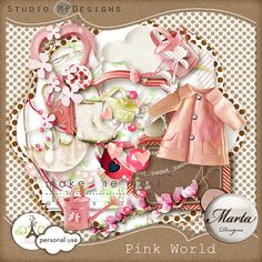 Pink World Paper Packs, World, Places, Pink, Design, The World, Pink Hair, Roses, Lugares