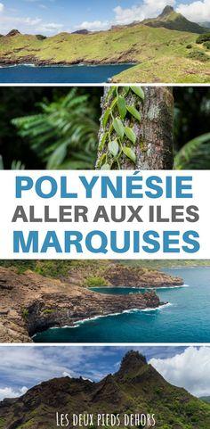 Vous partez en voyage en Polynésie française, pourquoi ne pas découvrir les îles Marquises, superbe archipel à 1500 Km de Tahiti ? Je vous livre tout ce qu'il y a à savoir pour aller aux îles Marquises ! #Tahiti #marquises #hivaoa #nukuhiva #aranui #avion #vol #polynesie #polynésie #polynesiefrancaise