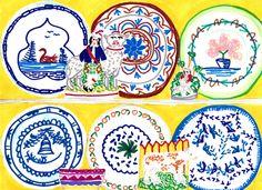 Lucy Auge Ceramics on Shelves