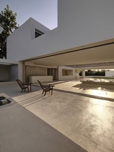 Note - integration of open plan living to fall out onto patio  Los Limoneros by Gus Wüstemann (Architect In Charge: Silvia Pujalte, Joan Pau Fernandez, Jan kubasiewicz, Eftychia Papathanasiou, Mariana Marques da Silva, Sandy Brunner) / Marbella, Málaga, Spain