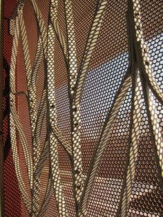 Promenade A Mcnichols Perforated Metal Design Inspired By Paths And Landscape Surrounding