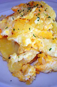 revuelto de patata