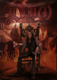 Ronnie James Dio Poster..from tenacious d and the pick of destiny