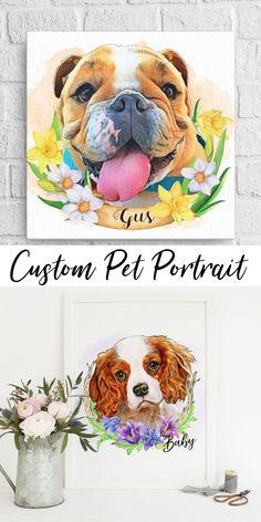 Golden Retriever Art Print /'esperanza/' Foto Poster Regalo-Amantes de los animales de perro