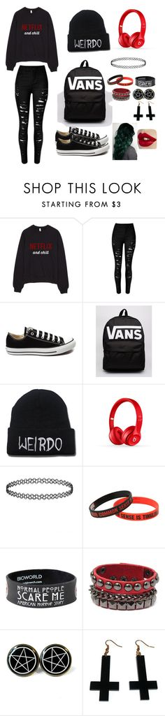 """""""the mall"""" by alexis-vlaskamp ❤ liked on Polyvore featuring interior, interiors, interior design, home, home decor, interior decorating, Converse, Vans, Beats by Dr. Dre and Chicnova Fashion"""