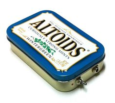 Portable Altoids amplificador y altavoces para iPhone MP3 Player-azul/rojo on Etsy, $400.00