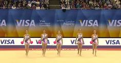 Gymnast's Jaw-Dropping Routine Stuns The Audience via LittleThings.com