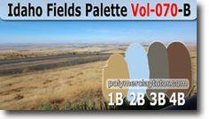 Idaho Fields Palette by Polymer Clay Tutor