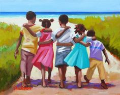 Shari Erickson is a multimedia artist whose work has been featured in the global Art In Embassies program. Now her art is available in print or on scarves! African American Art, African Art, Arte Latina, Haitian Art, Caribbean Art, Black Art Pictures, Art Africain, Black Artwork, Tropical Art
