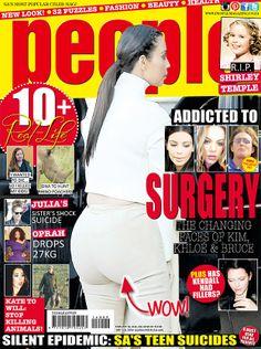 Kim Kardashian! #peopleSA