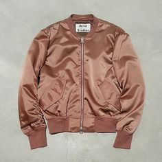 similar to vintage pink satin bomber at onesevenvintage on etsy. http://www.wewantsale.nl #wewantsale #fashion #follow