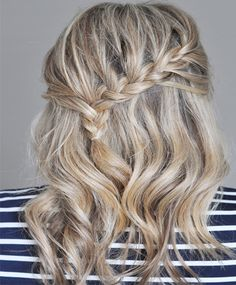 Cute casual long hairstyles 2016 with braids comprise fresh,