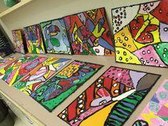 A Glimmer of Light: Romero Britto Inspired Canvas Art..