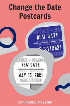 I'm sorry if due to unfortunate circumstances you have to delay your wedding or other celebration. Hopefully I can help make sharing the news with all your guest's a little easier with these Elegant Resave the Date Postcards. Softball Wedding, Basketball Wedding, Ticket Invitation, Invitations, Personalized Sticky Notes, Mars News, Gifts For Boss, Save The Date Magnets, Announcement Cards