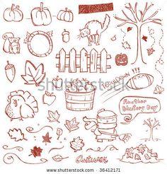 Doodles automne