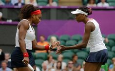 Venus and Serena Williams defeated Andrea Hlavackova and Lucie Hradecka of the Czech Republic to capture Olympics Doubles Title. Tennis Doubles, Venus And Serena Williams, Sister Act, What Team, Tennis Stars, Summer Olympics, Olympians, Sports Women, Sisters