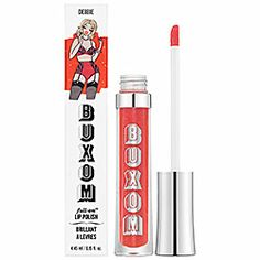 I love these lip polishes!!! Buxom - Buxom® Full-On™ Lip Polish in Debbie - original/ coral pink  #sephora