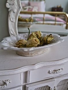 Chateau Chic - Using Dried Roses for Summer Decor