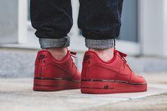 "Nike Air Force 1 Low ""Gym Red/Black"" (Star Pack) - EU Kicks: Sneaker Magazine"