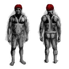pintura corporal/xingu