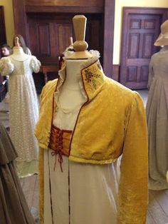 Written in Threads: Belsay Hall- Jane Austen Dresses